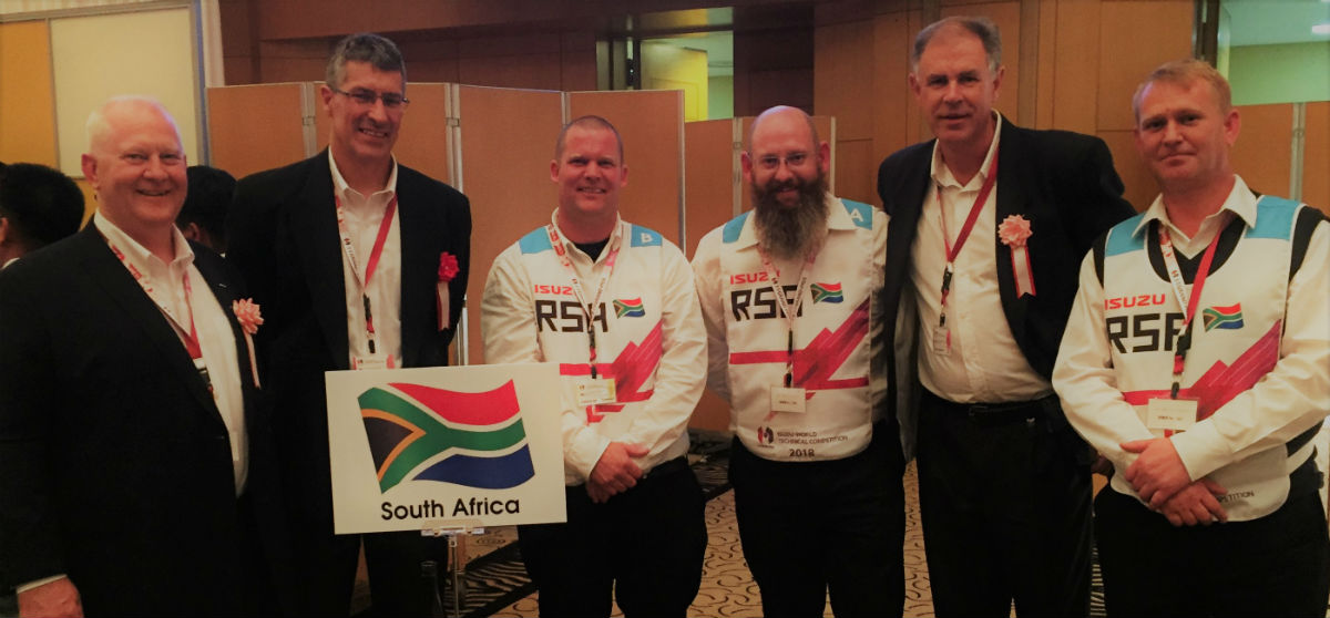 Isuzu Truck Techs In Top 6 At International Competition