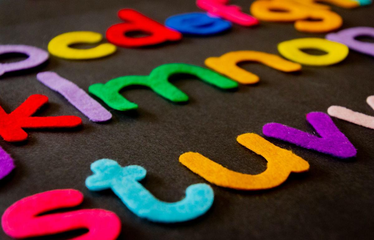 Material Alphabet