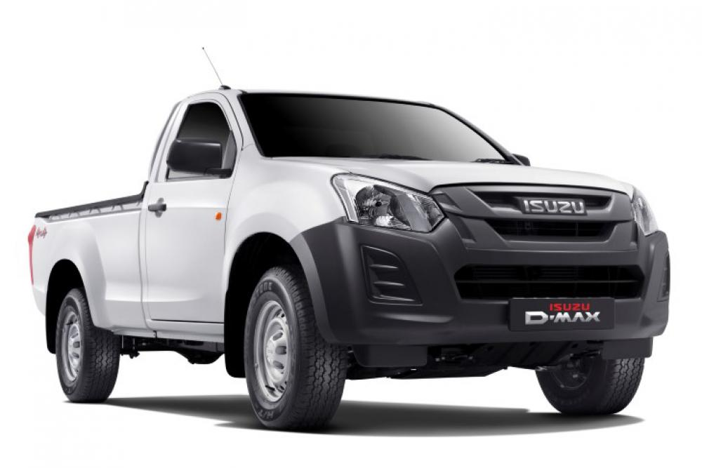 ISUZU D-MAX REGULAR CAB FLEETSIDE SAFETY