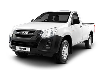 Summit White Single Cab Isuzu KB